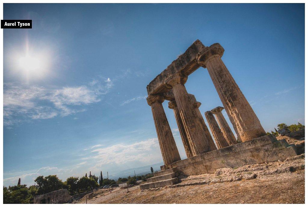 Ancienne Korinthe, Grèce
