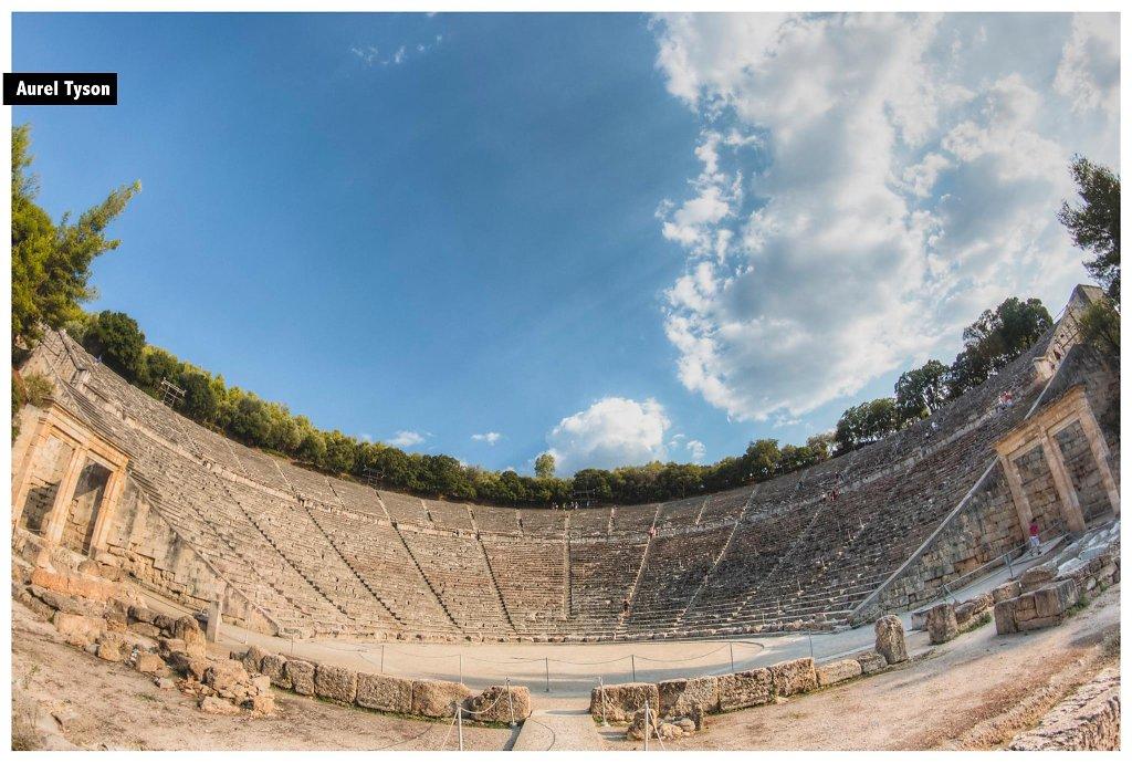 Théâte d'Epidaure, Grèce